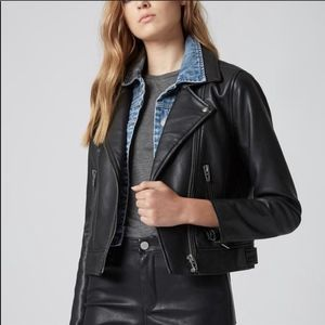 BlankNYC • The Cool Kid Jacket Faux Leather Jean
